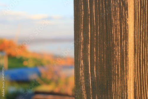 Canvas Print Close-up Of Wood Against Sky