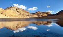 Pamir Mountains Near Pamir Highway Lake Tajikistan