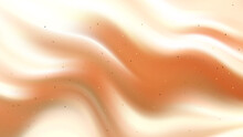 Beige Cream Abstract Background Smooth Wave Pattern,