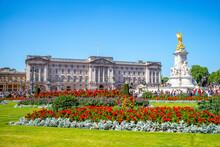 The Principal Facade Of Buckingham Palace
