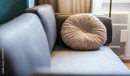 Fototapeta Home staging - sprzedaż mieszkań - aranżacja - flip obraz