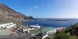Puerto de La Estaca, El Hierro, Kanarische Inseln, Spanien - Fährhafen der Insel mit Teil des kleinen gleichnamigen Ortes