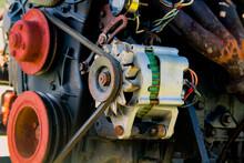 Old Motorboat Engine