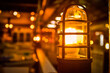 Leinwandbild Motiv Close-up Of Illuminated Light Bulb In Room