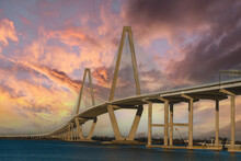Authur Ravenal Jr. Bridge In Charleston, South Carolina