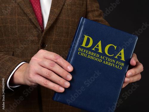 Deferred Action for Childhood Arrivals DACA concept Fototapet