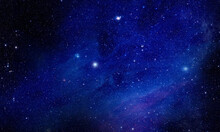 Intergalactic Starfield - Elements Of This Image Furnished By NASA