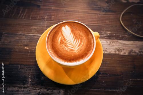 Fototapeta Coffee Cup On Table