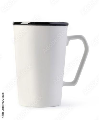Tela White ceramic mug