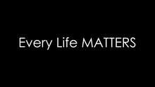 4K Every Life Matters Background