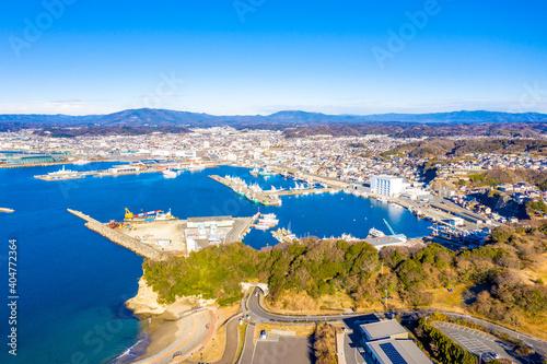 Fotografia 冬の小名浜港(福島県いわき市)