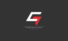 CG GC C7 C AND G Abstract Initial Monogram Letter Alphabet Logo Design