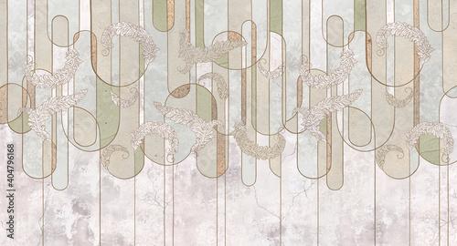 Tapety Loftowe  design-w-stylu-loftowym-klasycznym-barokowym-nowoczesnym-rokoko-geometria-graficzna-na-tle-betonu-grunge-lekka-delikatna-fototapeta-fototapeta-fototapeta-kartka-pocztowka