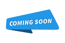 Coming Soon Image. Coming Soon Banner Vector Illustration