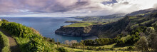 Great Landscape, At The Azores Islands, Viewpoint Santa Iria.