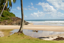 Ribeira Beach Is One The Many Beautiful Beaches That Can Be Found Along The Coastline In Itacare, Brazil