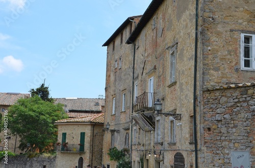 Fototapeta Volterra - uliczki i budynki obraz