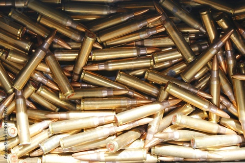 Full Frame Shot Of Ammunition Fototapet