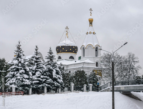 Obraz na płótnie Church of St. Mary Magdalene Equal to the Apostles in Minsk