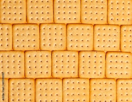 Full Frame Shot Of Biscuits Fotobehang