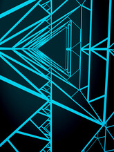 Abstract Triangles Geometric Structure
