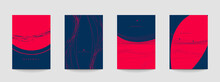 Elegant Abstract Minimal Background Templates. Vector Illustration