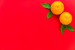 Leinwandbild Motiv Orange for special days such as chinese new year.