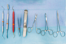 Dentist Tools Closeup