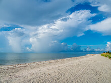 Gulf Of Mexico Beach At Sanibel Island Lighthouse Beach Park On Sanibel Island Florida