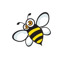 Bee Honey Icon Vector Illustration Design, Bumblebee