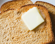 Toast With Meltin Butter