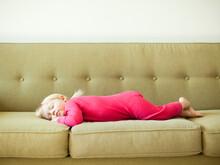 Portrait Of Baby Girl (18-23 Months) Sleeping