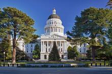 USA, California, Sacramento, California State Capitol Building