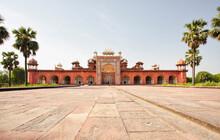 India, Uttar Pradesh, Agra, Sikandra, Akbar's Tomb