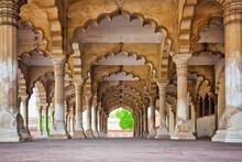 India, Uttar Pradesh, Agra, Agra Fort, Hall Of Public Audience