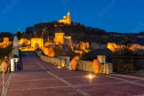Stampa su Tela Ruins of medieval stronghold Tsarevets, Veliko Tarnovo, Bulgaria