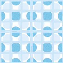 Textured Geometric Retro Square Polka Dot Seamless Vector Repeat Background. Geometric 3D Design. Close Up, All Over Repeat. Interior Design, Home Decor, Interior. Vector EPS 10 Tile.