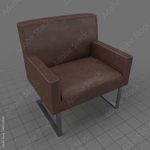 Obraz Modern armchair - fototapety do salonu