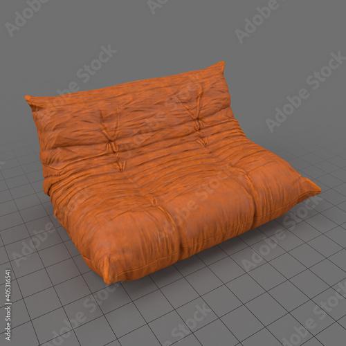 Obraz Comfortable modern sofa - fototapety do salonu