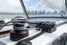Sailing On A Yacht