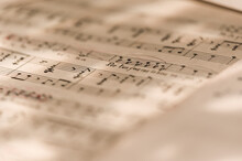 Musical Scores With Beautiful Lighting