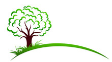The Stylized Green Forest Symbol.