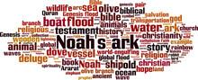 Noah's Ark Word Cloud