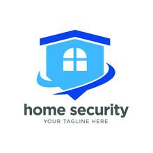 Home Protect Logo Design Template