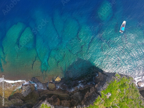 Obraz Aerial View Of Sea - fototapety do salonu