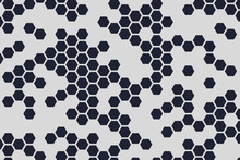 Hexagons Web, Simple Modern Background