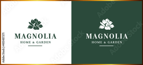 Valokuva READY TO USE: flower logo, florist, home furnishings, accessories, home & living
