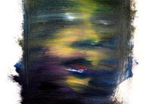 Abstract Murales Portrait Of Woman Ghost