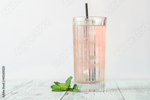 Pink gin cocktail © alex9500