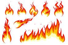 Great Flame Illustration Set